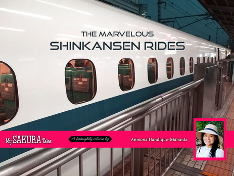 The marvelous Shinkansen rides