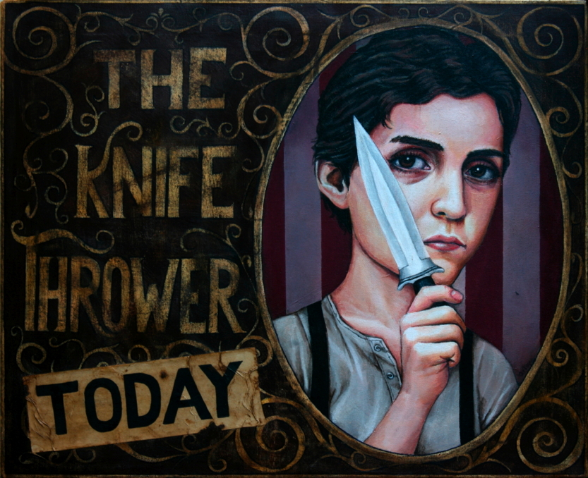THE KNIFE THOWER