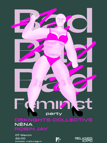 Bad Feminist Party Poster