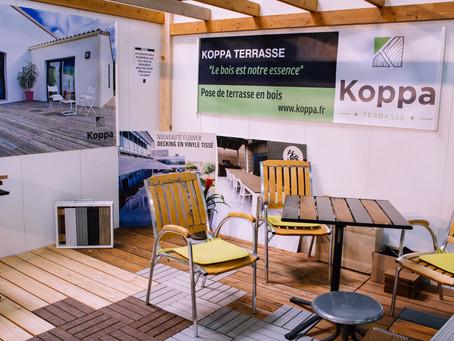 L'entreprise Koppa à la Foire Comtoise