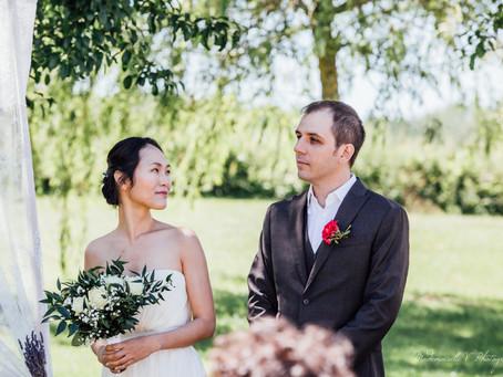 Mariage S & C - Mariage Franco-Coréen-Montréalais