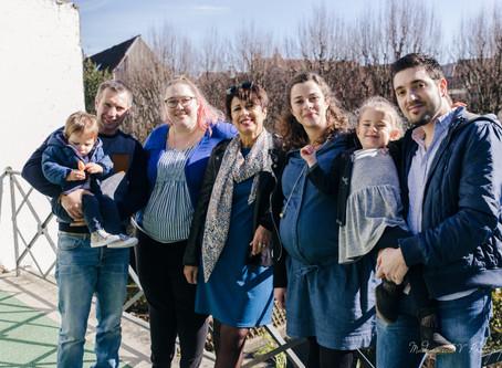 Séance photo Famille au centre ville de Besançon ...
