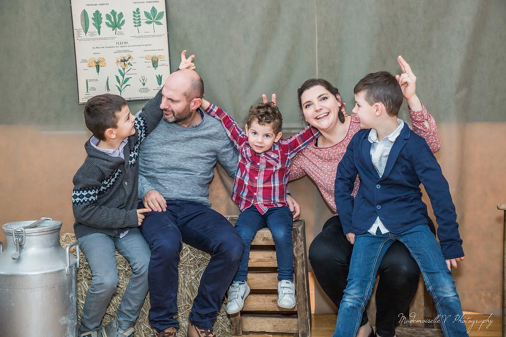 séance photo besançon famille anniversaire bonheur