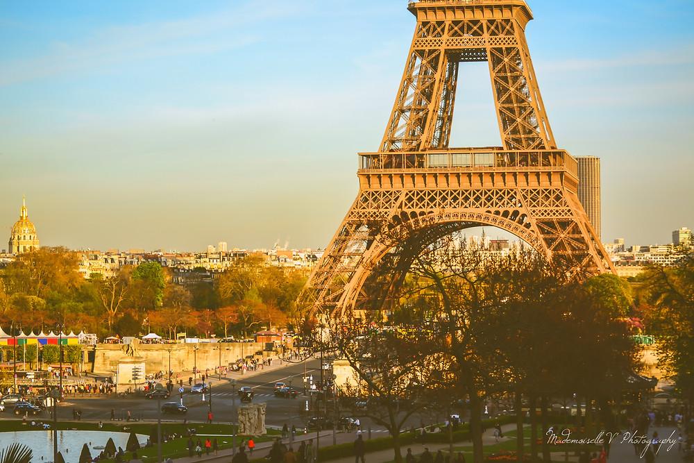 Paris Tour Eiffel Mademoiselle V' Photography