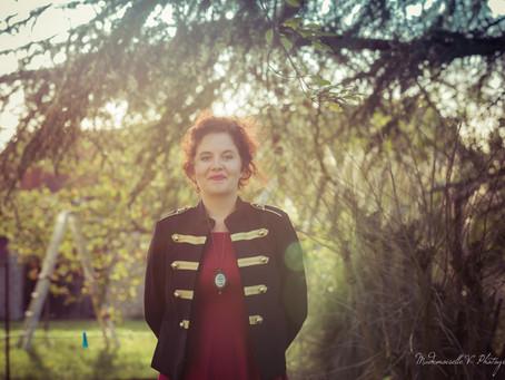 Séance Photo Solo pour Mademoiselle V' Photography