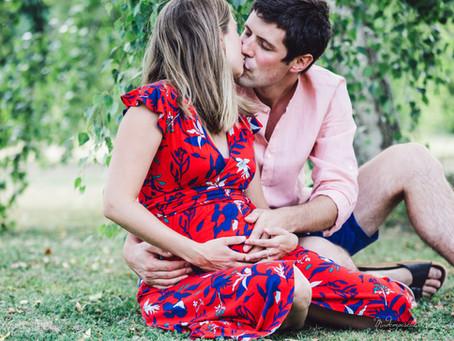 Une jolie séance photo couple et grossesse en Franche-Comté