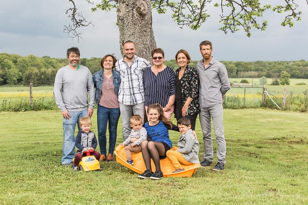 Séance Photo Famille Jura Tassenières