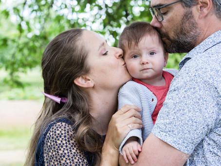 Séance photo famille pour Bertille, Luc & Emilie...