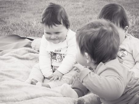 Séance Photo Famille avec... Des triplés!