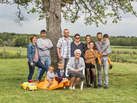 Une séance photo Famille à 27 dans le Jura !