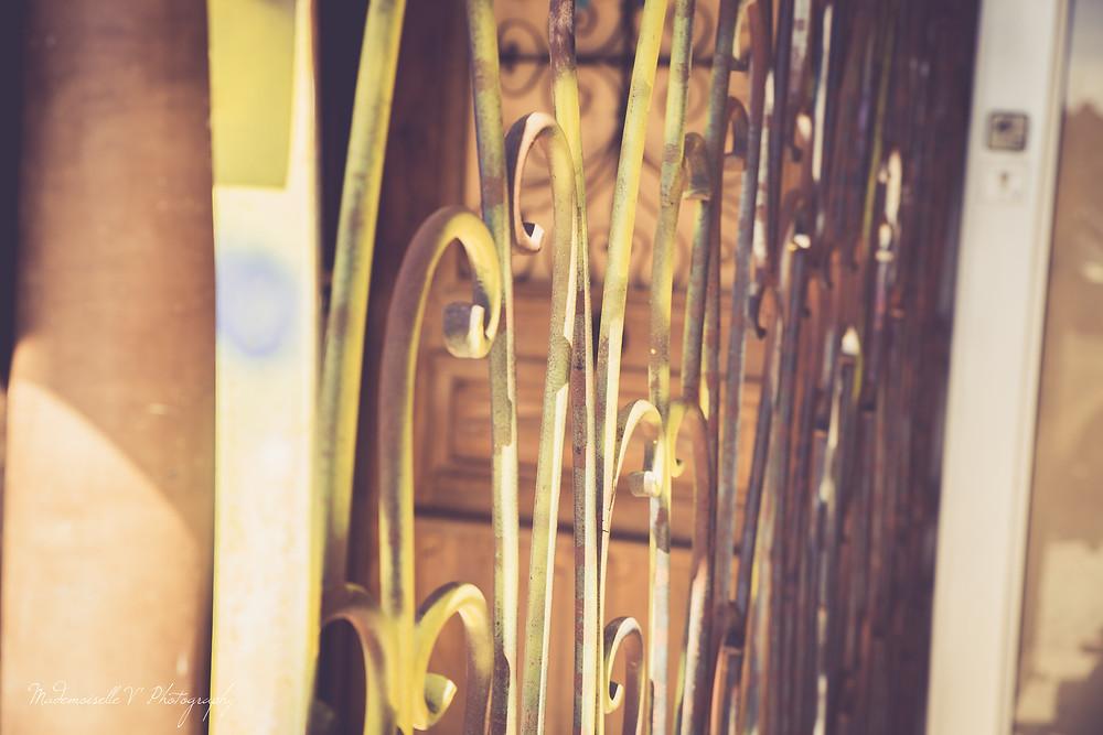 Barrière détails Sanary Photographie