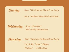*Sol Series* Schedule + Pier's Park Info
