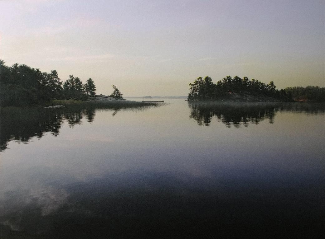 August Mist 18x24