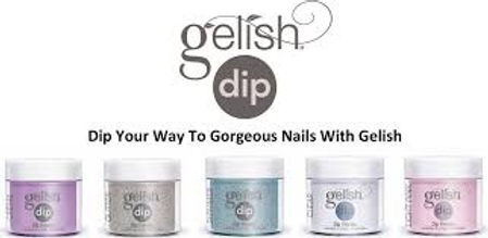 Gelish Dip, SNS nails