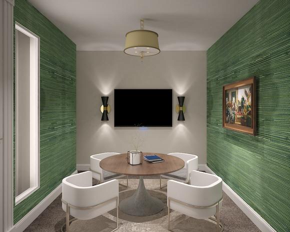 Media Suite Green Room