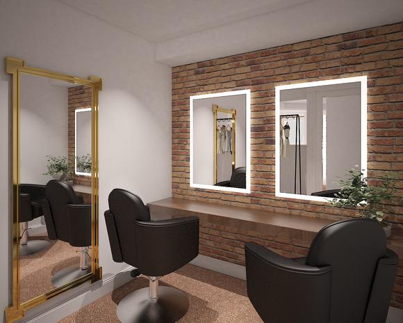 Media Suite Dressing Room