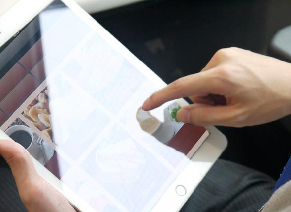 感覚的に利用できるiPad