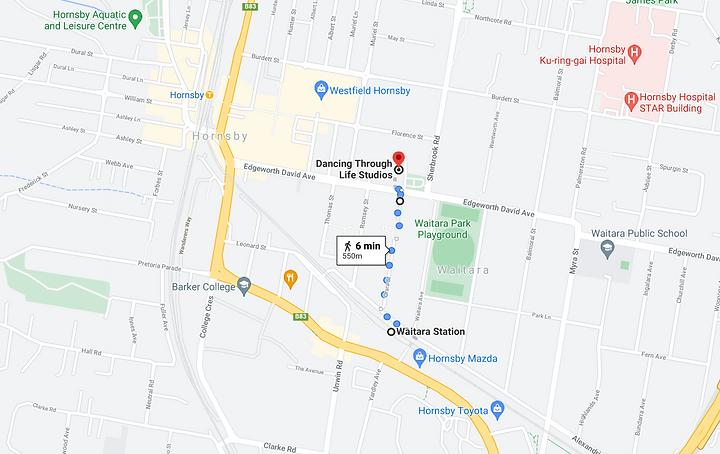 Dancing Through Life Studios_Google Maps