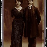 I coniugi Maria Sommaruga e Giuseppe Longoni