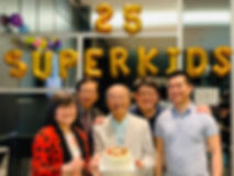 Superkids 25th anniversary