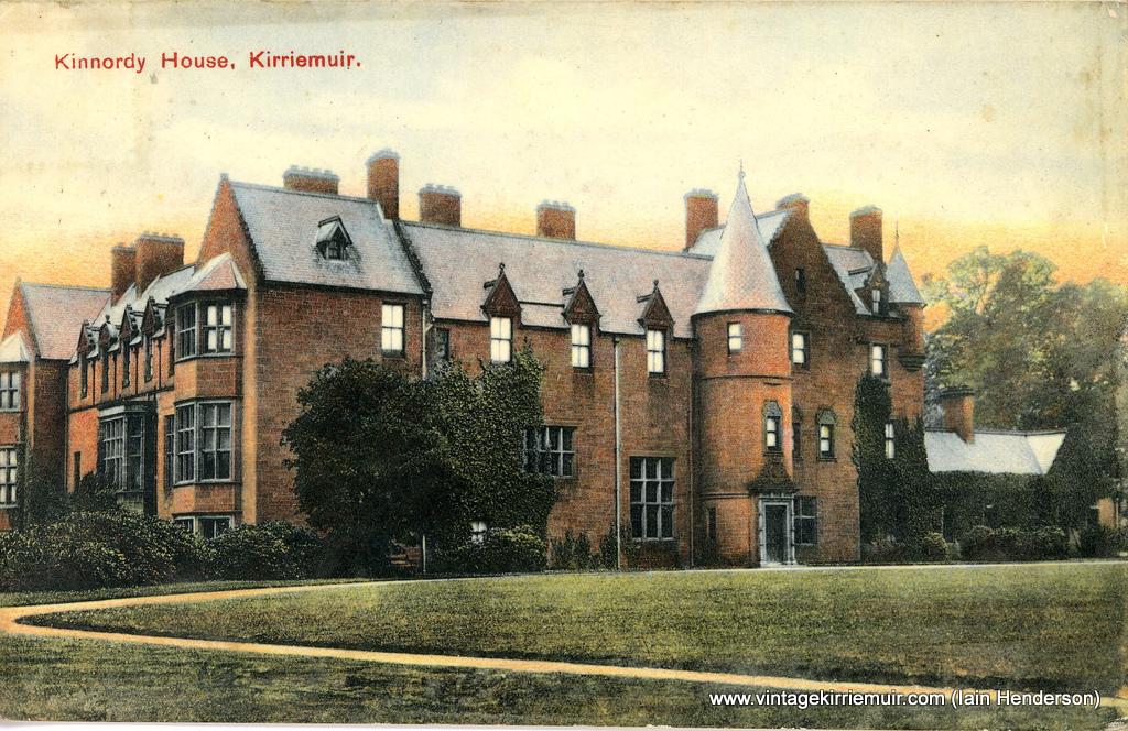 Kinnordy House, Kirriemuir (1907)
