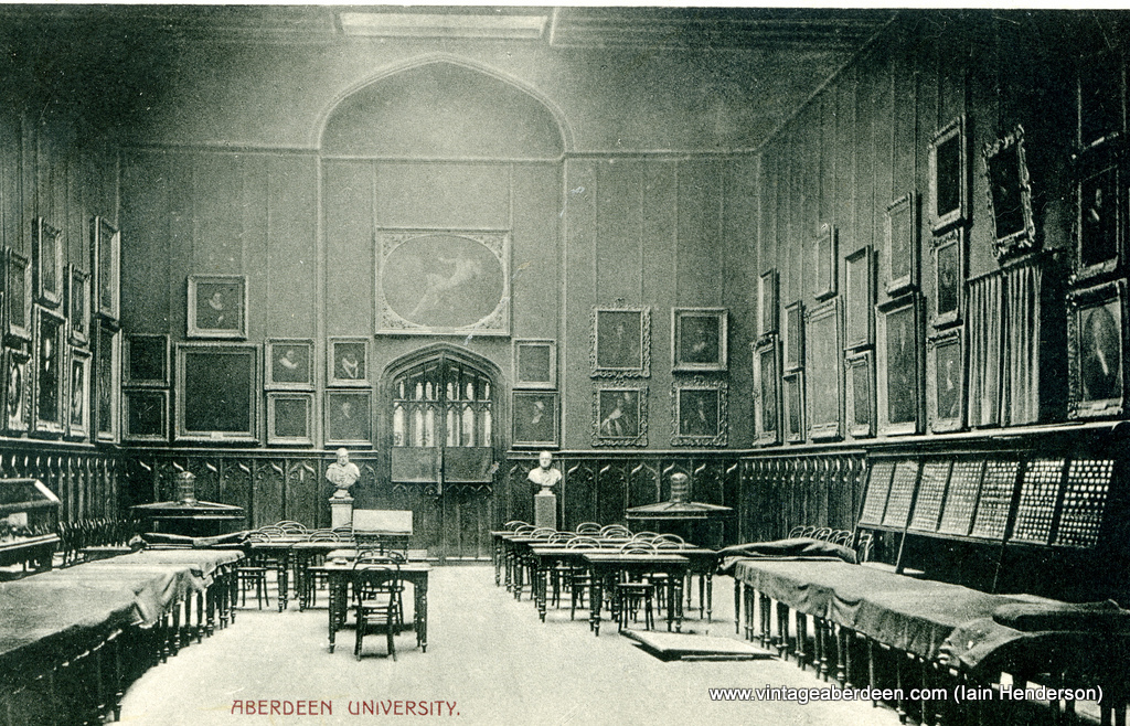 Aberdeen University, Marischal College Picture Gallery