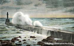Breakwater at Harbour (1906)