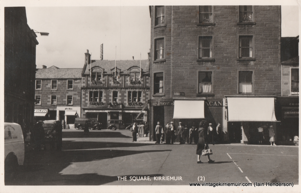 The Square, Kirriemuir (1952)