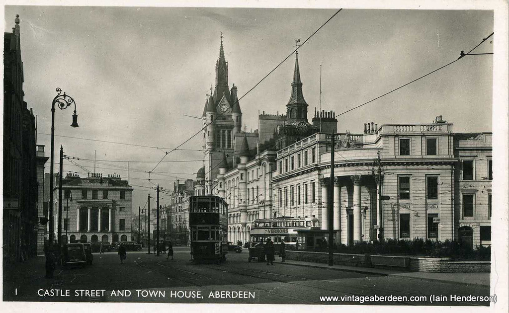 Castle Street and Town House, Aberdeen