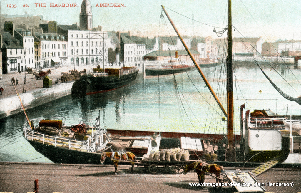 Aberdeen Harbour (1907)