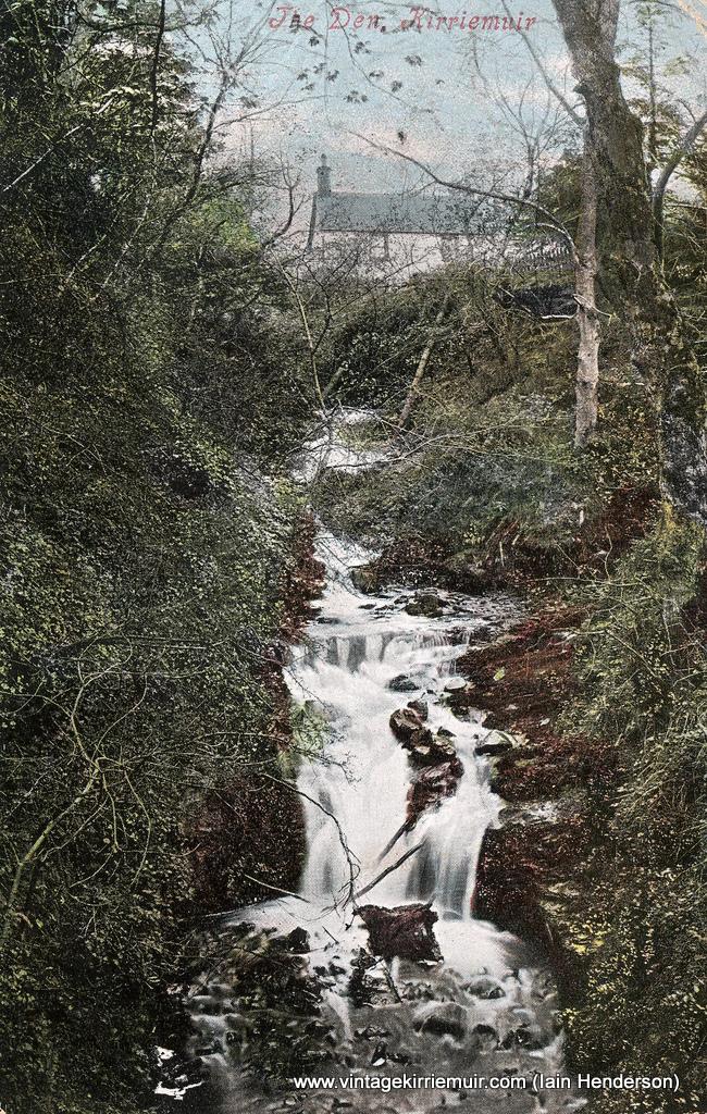 The Den waterfall, 1906