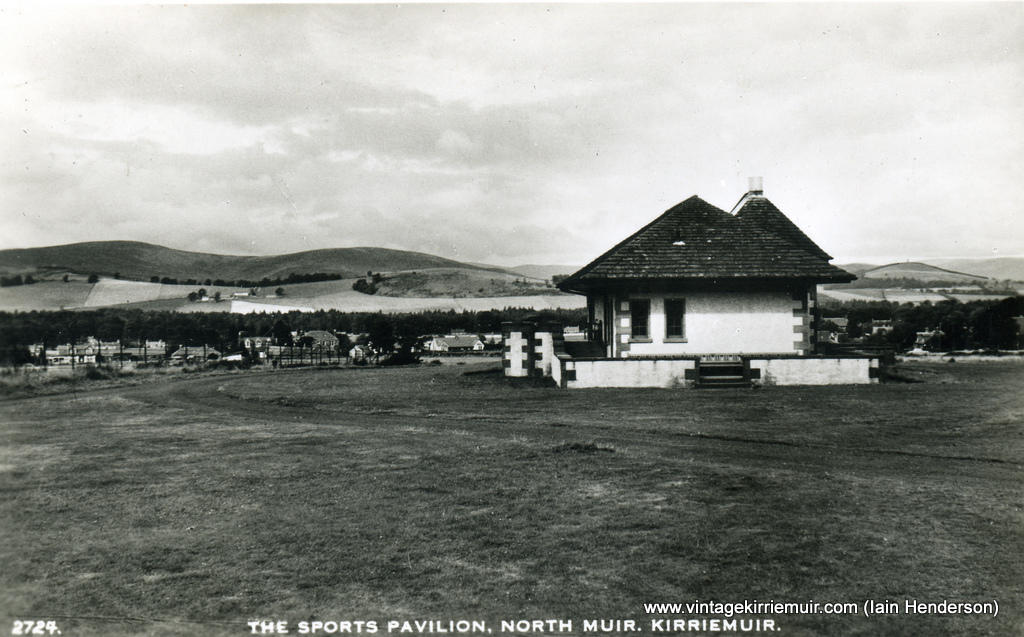 The Sports Pavilion, The Hill, 1962