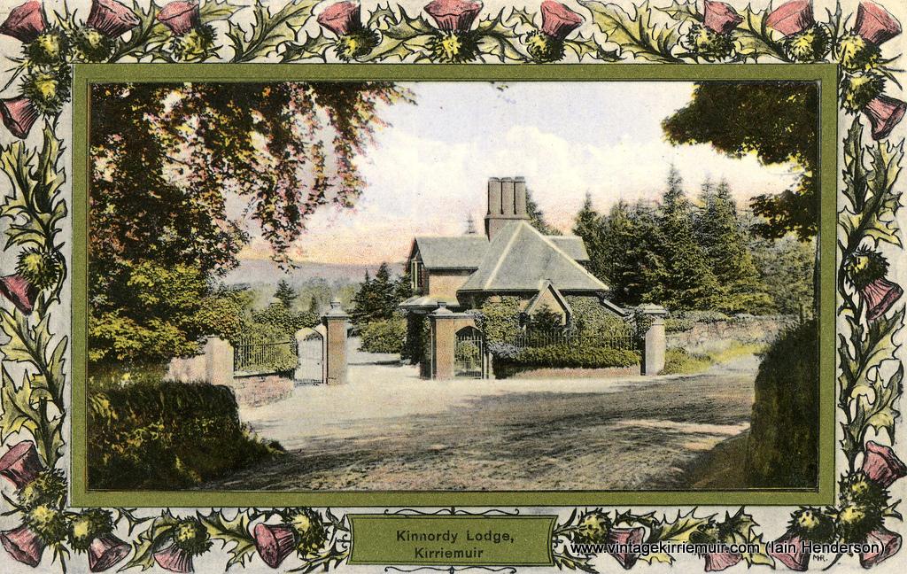 Gatehouse for Kinnordy House, Kirriemuir