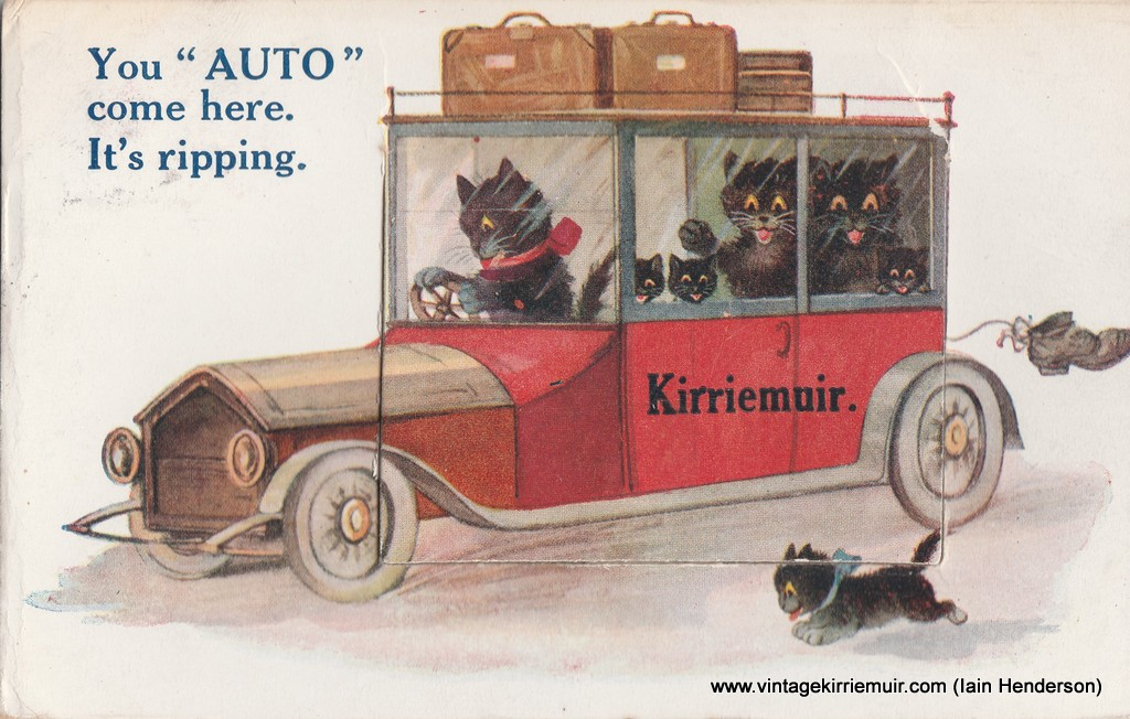 """You """"Auto"""" come here. It's ripping (1922)"""