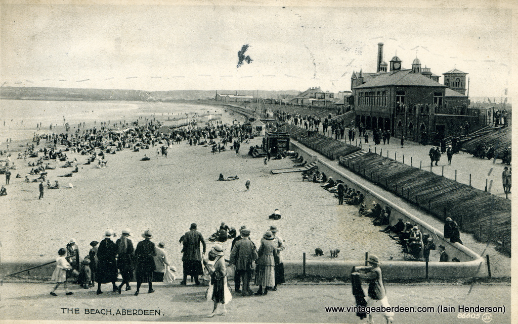 The Beach, Aberdeen (1923)