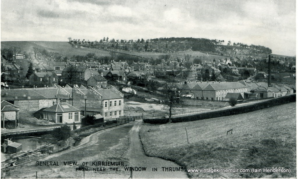 General View of Kirriemuir from near the Window in Thrums