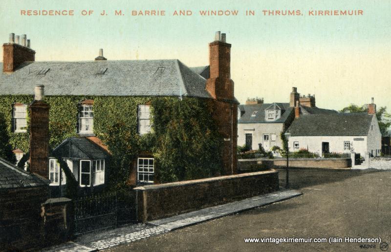 J M Barrie's Residence