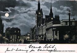 Municipal Buildings (Town House), Aberdeen from Castlegate