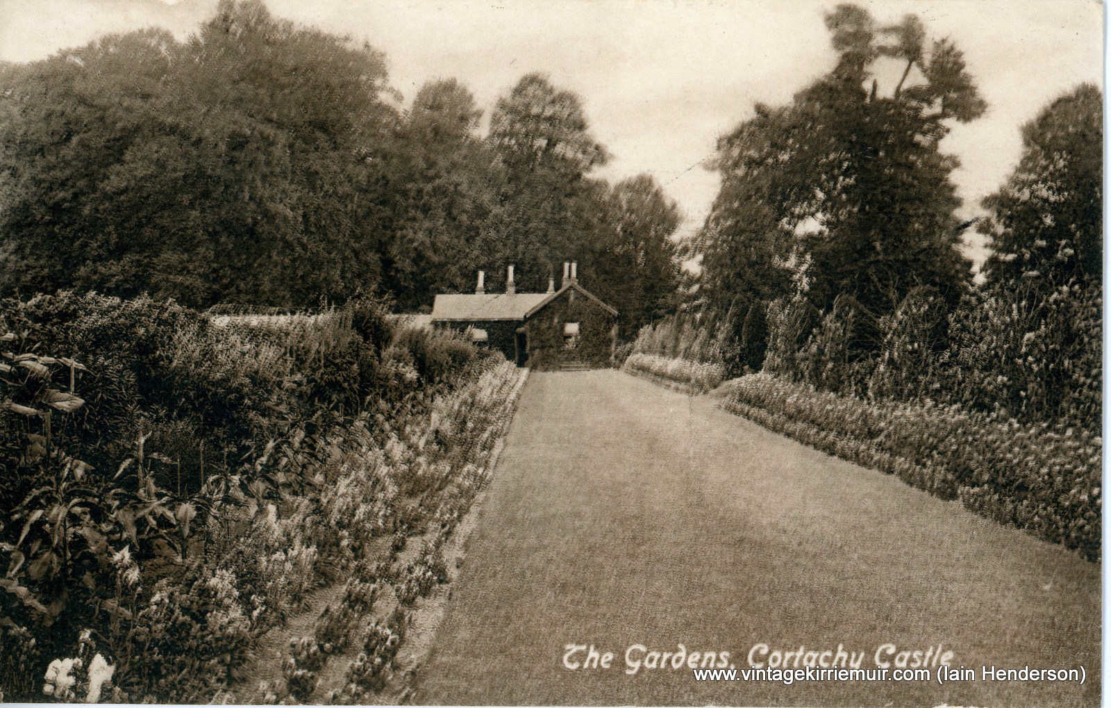 The Gardens, Cortachy Castle