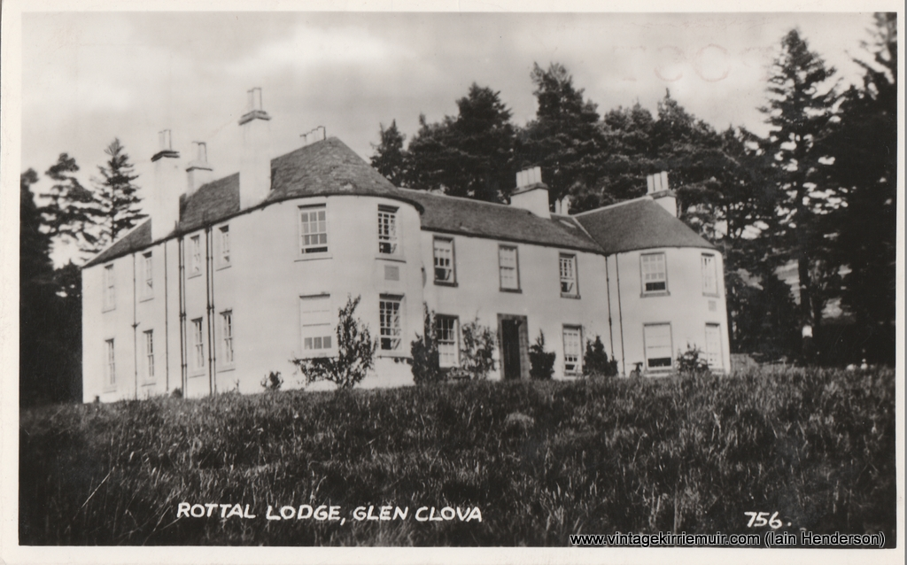 Rottal Lodge, Glen Clova