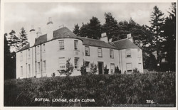 Rottal Lodge, Glen Clova