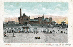 The Beach and Bathing Station, Aberdeen