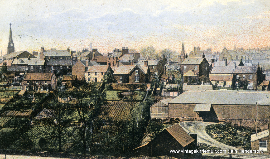 Kirriemuir from The Commonty, 1906