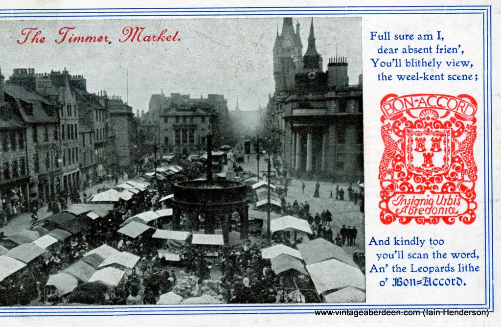 The Timmer Market, Aberdeen (1913)