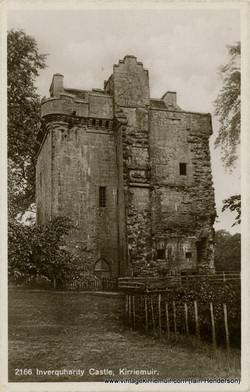 Inverquharity Castle, Kirriemuir