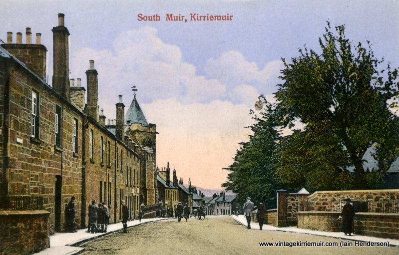 Glamis Road, Southmuir, 1923