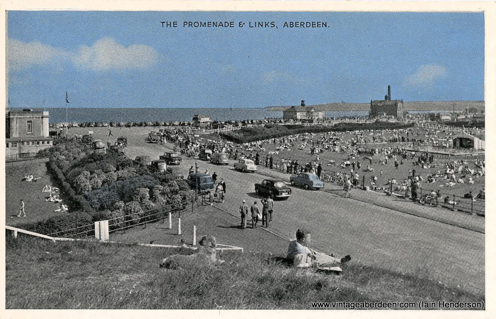 The Promenade and Links, Aberdeen Beach