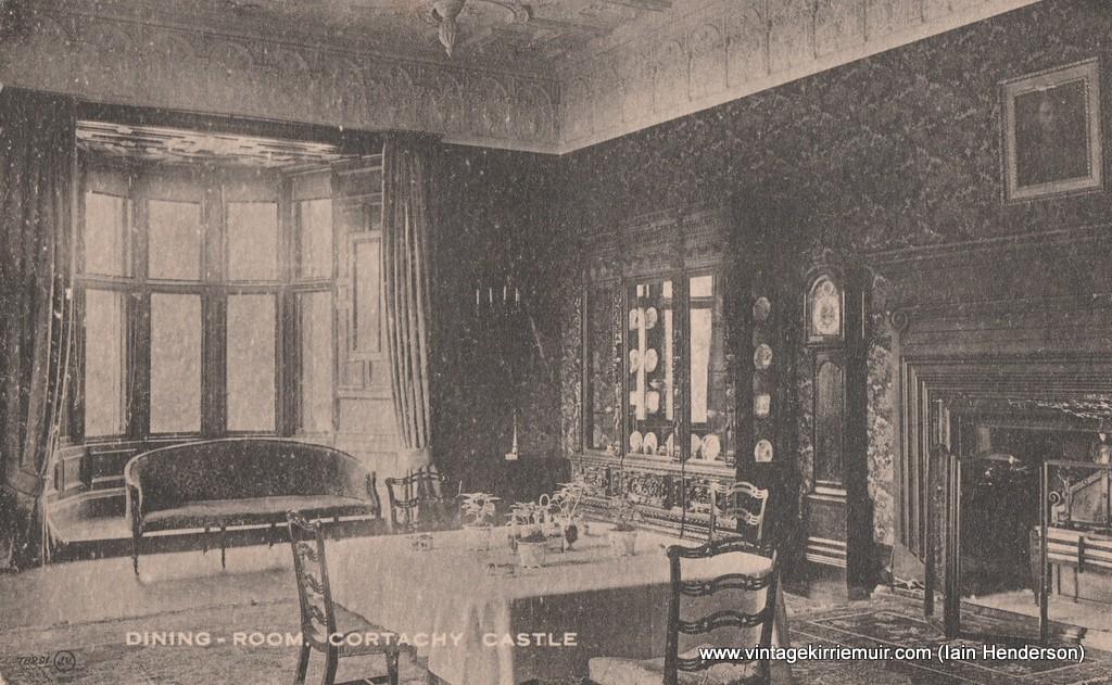 Dining Room, Cortachy Castle