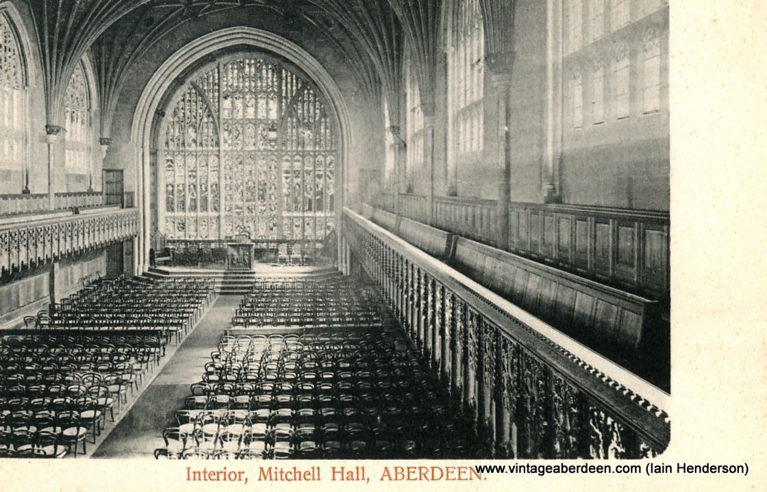 Mitchell Hall, Marischal College, Aberdeen