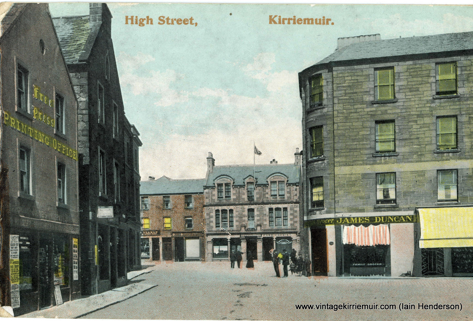 High Street, Kirriemuir, 1907
